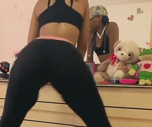 Twerking Booty animated GIF